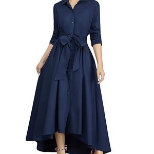 Women's elegant maxi dress, pockets